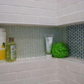Midcentury Bathroom by MODERN RENOVATIONS