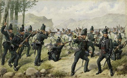 Soldiers of the 95th Rifles