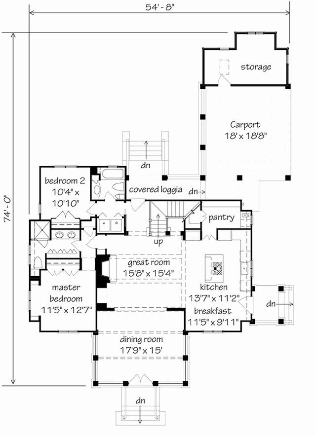 10000 Square Foot House Plans Best Of Farmdale Cottage In 2020 Cottage Floor Plans Southern Living House Plans Floor Plans