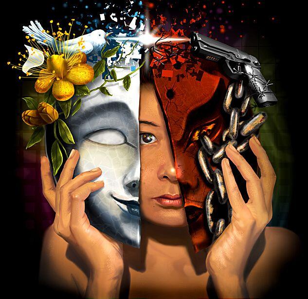 Bunatatea si rautatea, raiul si iadul exista in fiecare dintre noi, iar ele sunt create si mentinute prin gandurile si actiunile noastre.  Da, un om poate