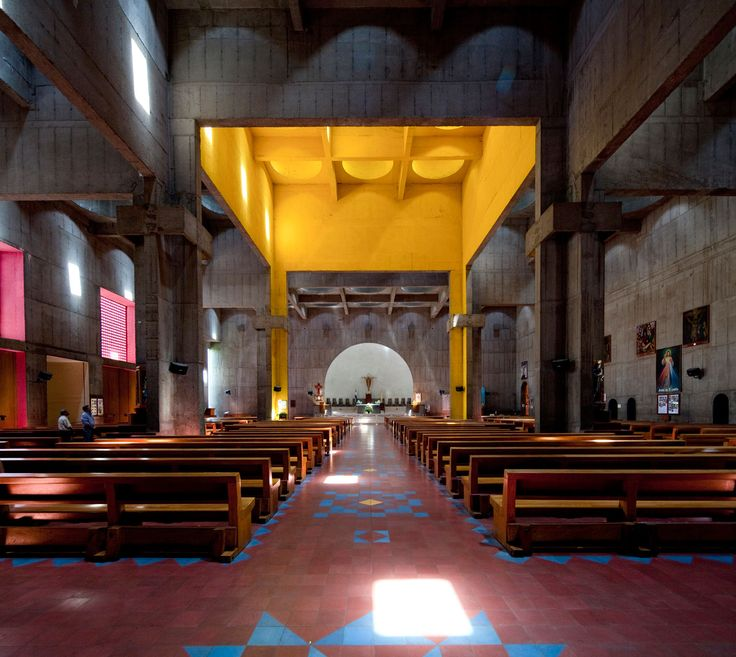 Metropolitan Cathedral of the Immaculate Conception, Managua, Nicaragua, Ricardo Legorreta