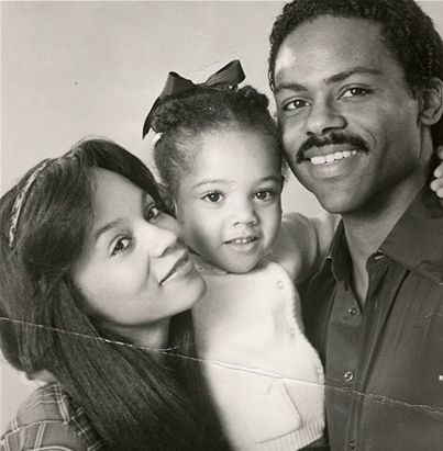 Actor Richard Lawson his first wife, Actress Denise Gordy & their daughter - Actress Bianca Lawson (Mr. Richard Lawson is currently married to Beyonce's Mother, Tina Knowles)