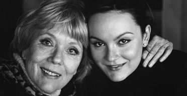 In the blood - Diana Rig and daughter Rachael Stirling