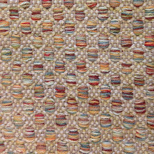 Mosaic pattern developed by Lark Textile Design.