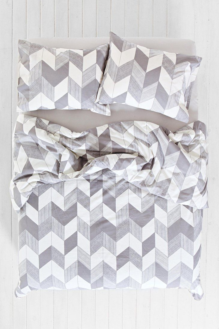 Assembly Home Adele Chevron Duvet Cover - Urban Outfitters