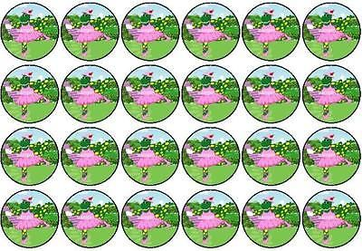 24 Dorothy The Dinosaur Mini Edible Cup Cake Cupcake Toppers Decoration Images