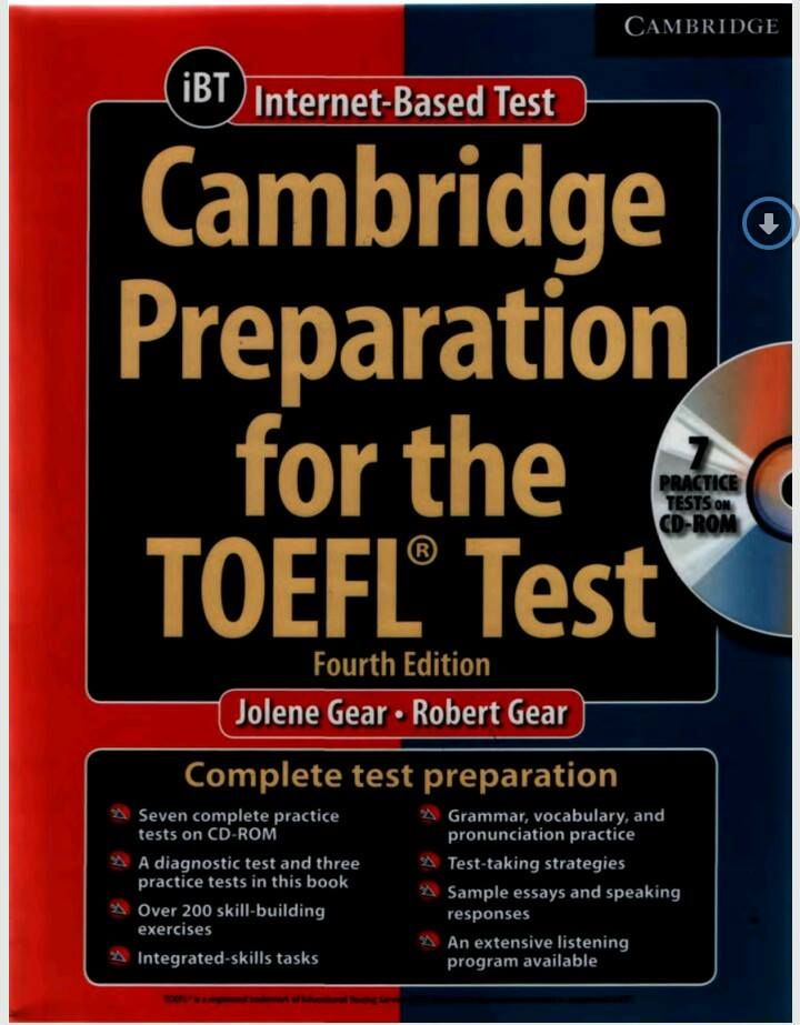 173 best e books images on pinterest english english language and cambridge preparation for the toefl test book with online practice tests fandeluxe Choice Image