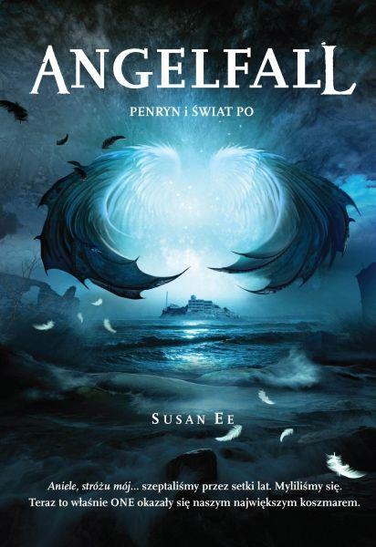 mrocznie, symbolicznie, nastrojowo :)  Angelfall 2 - Susan Ee (polish cover)