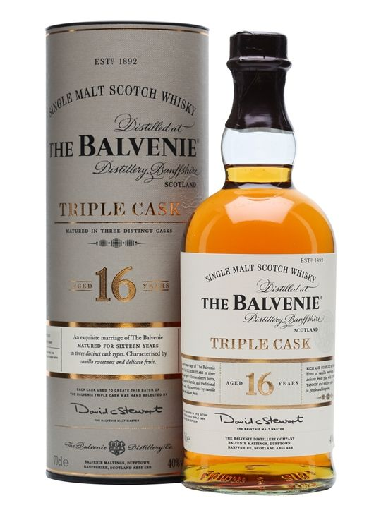 Balvenie 16 Year Old / Triple Cask Scotch Whisky : The Whisky Exchange