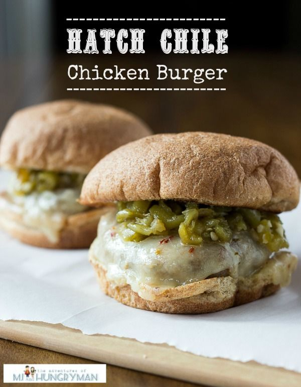#ad Hatch Chile Chicken Burger w/Cilantro-Mayo #CreateAMeal #cbias