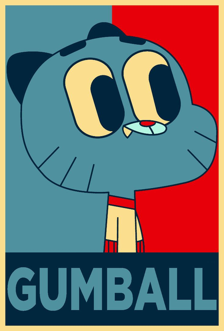 Vota no gumball para presidente da cartoon netoark.