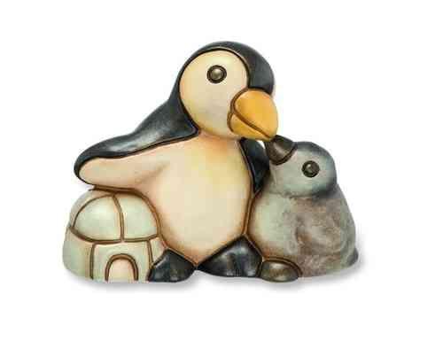 THUN Animali »PINGUIN MIT JUNGEM«
