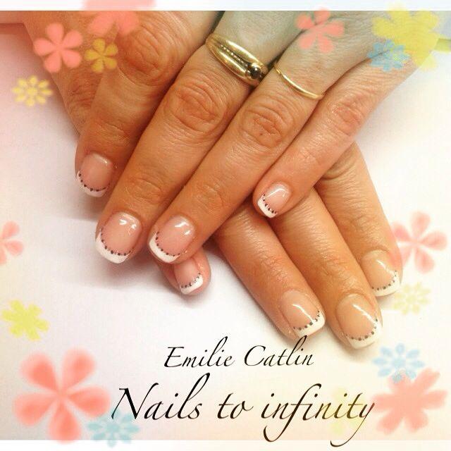 17 meilleures images propos de ongles sur pinterest - Deco ongle simple ...