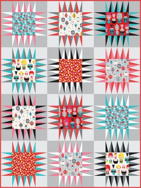 Naruko pattern (Robert Kauffman) free