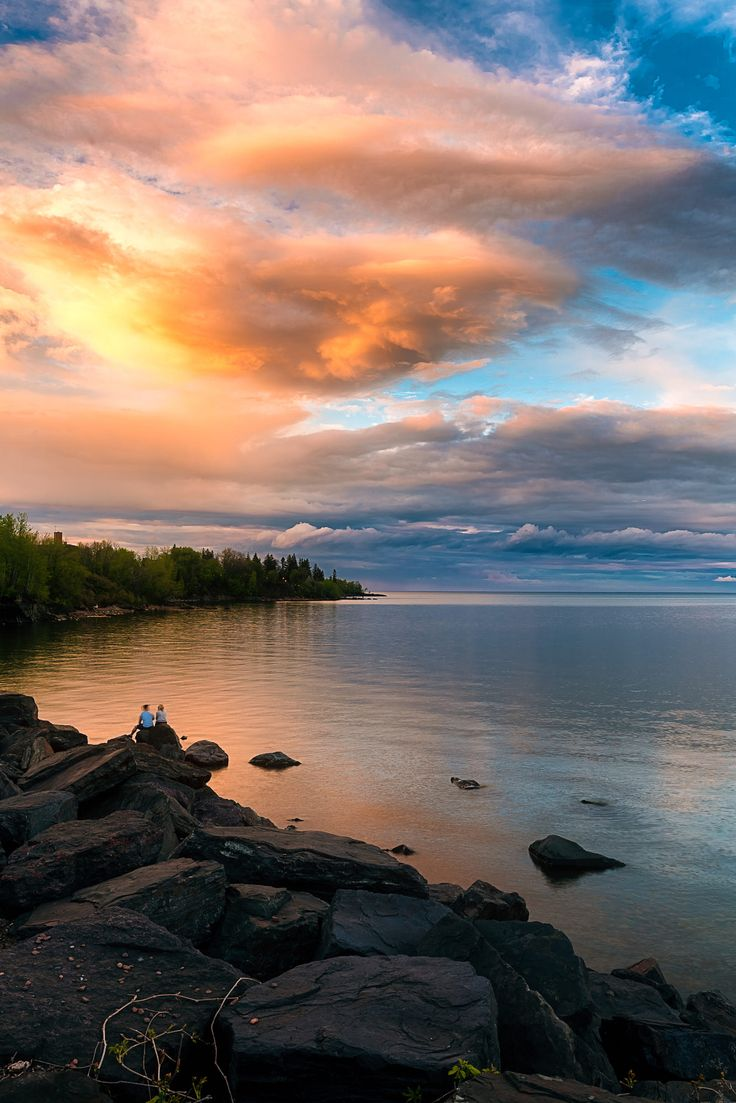 Sunset (Duluth, Minnesota) by Like_He
