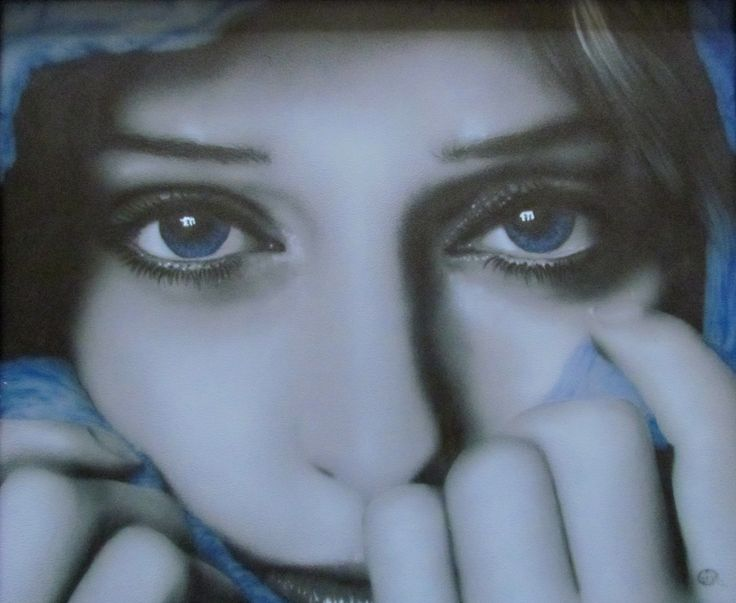 Airbrushed portraits