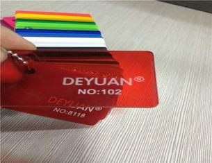 De Bonne Qualité Feuille acrylique de plexiglass rouge translucide, feuilles d'acrylique de 0,8 - de 12mm PMMA Ventes