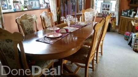dining room table and chairs. Two units also.one c
