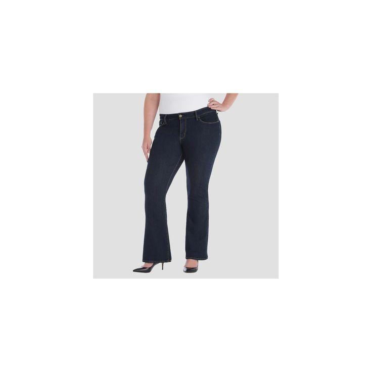 Denizen from Levi's Women's Plus Size Jeans Dark Denim 20W, Blue