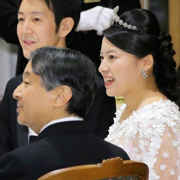 Imperial Family Members Attended The Wedding Banquet Of Princess Ayako And Kei Moriya Royal Weddings Silk Dress Design Pink Silk Dress
