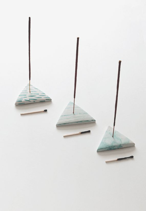 Polymer Clay Incense Holders