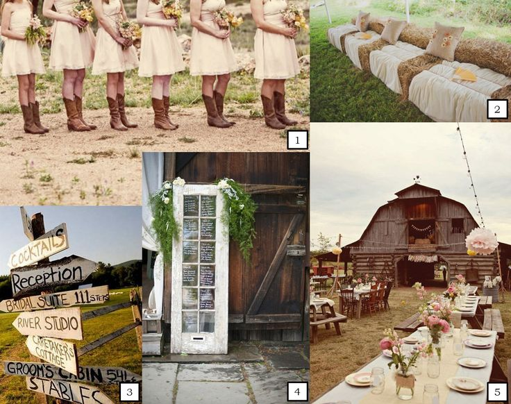 rustic country wedding | ... are so many ways to create your perfect rustic country themed wedding