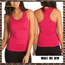 top quality nylon/spandex supplex womens fitness tank tops flat lock stitching gym running singlets Best Buy follow this link http://shopingayo.space