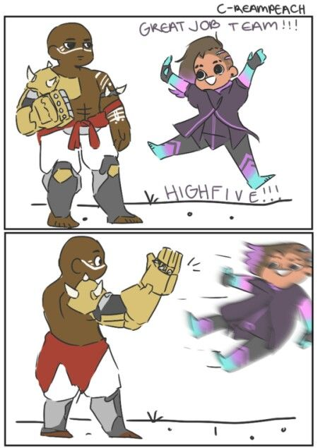 C-reampeach.tumblr.com | Overwatch | Doomfist and Sombra