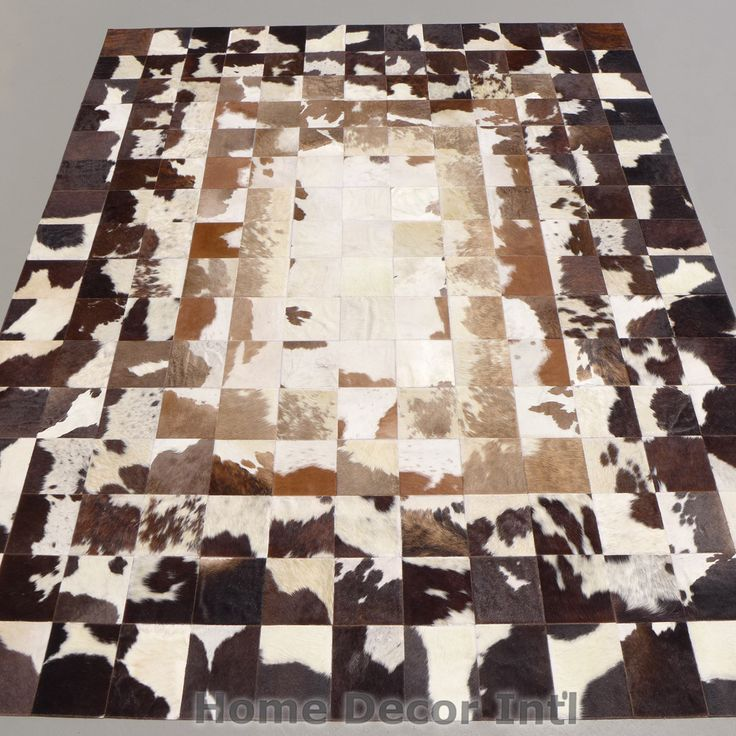 17 best images about custom cowhide area rugs on pinterest for Designer cowhide rugs