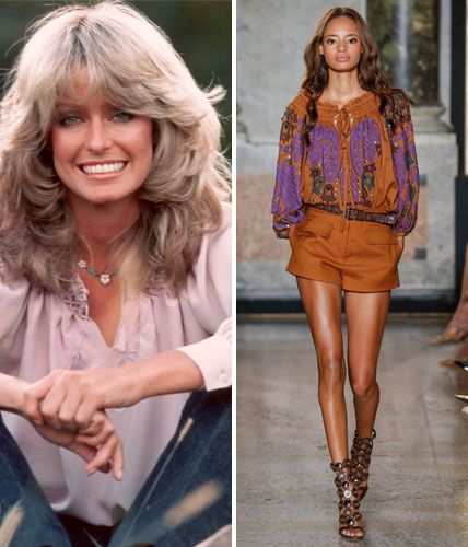 Then and Now: These Sexy '70s Trends Are Making a Comeback - The Peasant Blouse  - from InStyle.com