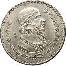1964 Mexican Independence War HERO Jose Maria Morelos Peso Coin of Mexico i53776 https://trustedmedievalcoins.wordpress.com/2016/03/14/1964-mexican-independence-war-hero-jose-maria-morelos-peso-coin-of-mexico-i53776/