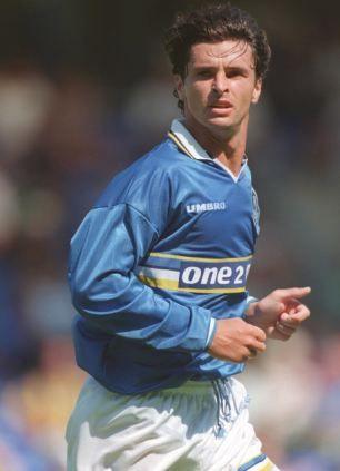 Gary Speed, Everton v Southampton 16th November 1996.