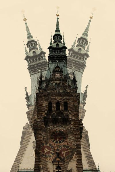 Christian Ruhm - Landmarks Series (multiple-exposures of famous buildings)