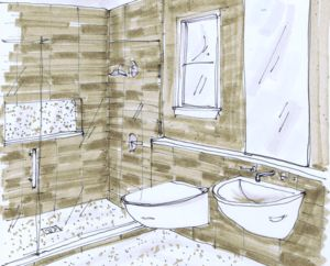 how to decorate the top of a cabinet modern bathroom designmodern