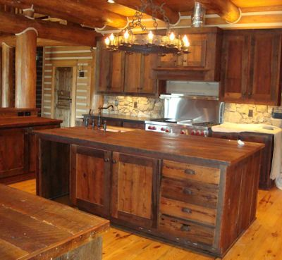 Rustic Kitchen Cabinet Door Designs