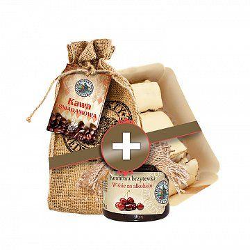 ZESTAW RADOŚCI - Produkty Benedyktyńskie    W skład zestawu wchodzą:    1. Kawa śniadaniowa to mieszanka arabik południowoamerykańskich oraz robust azjatyckich i afrykańskich. Dla wszystkich, którzy lubi...