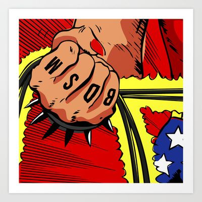 Spank Art Print by Butcher Billy - $17.68