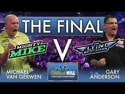 2017 World Darts Championship FINAL  van Gerwen vs Anderson - YouTube