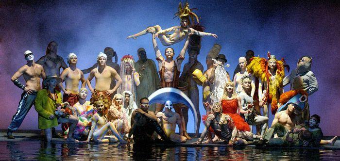 Cirque du Solieil.