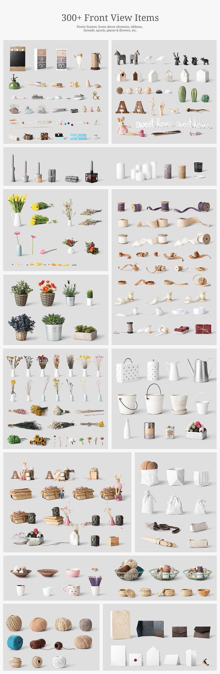 Simple Homes Mockup Creator by Mockup Cloud on @creativemarket #ad