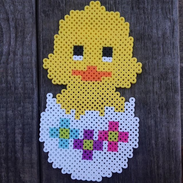 Easter egg perler beads by maries_perlerart