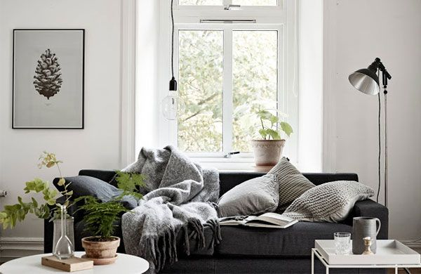 Adorable one room Swedish apartment   My Cosy Retreat