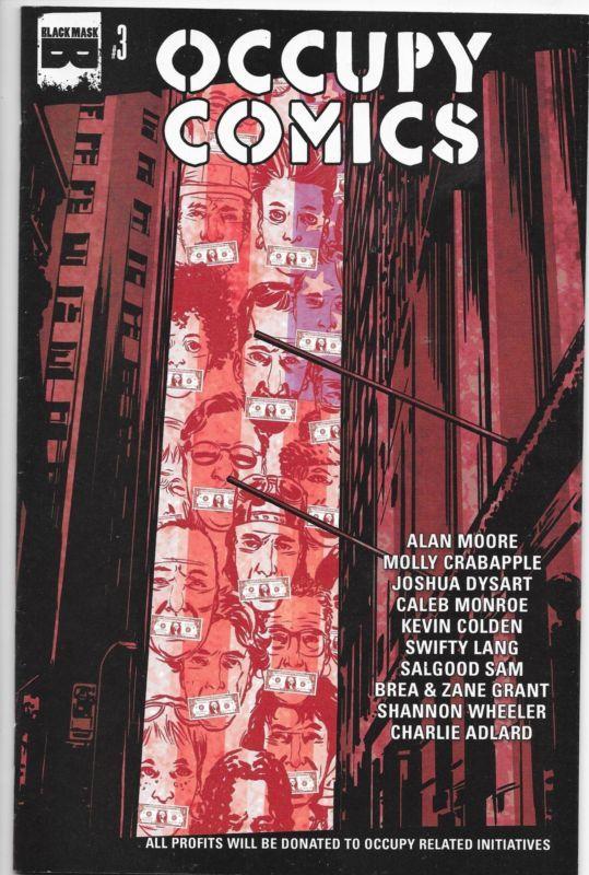 Occupy Comics #3 Black Mask Comics Alan Moore & More NM
