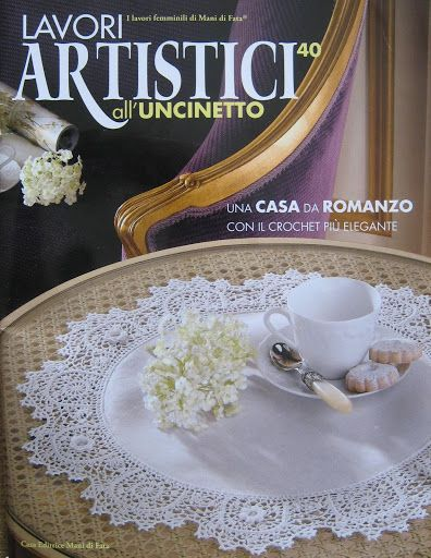 crochet - revistas - magazines - Lavori Artistici all'uncinetto - Raissa Tavares - Álbumes web de Picasa