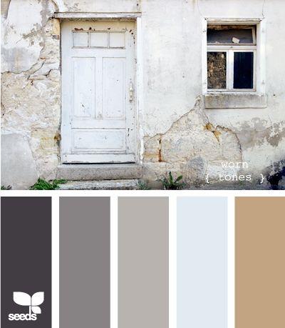 worn tones