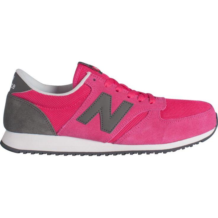 New Balance Pink with Dark Grey
