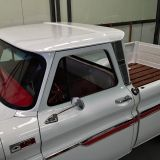 1965 Chevy Truck white red
