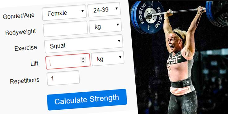 Basic Strength Lifts Calculator - Are you Strong Enough? - https://www.boxrox.com/basic-strength-lifts/