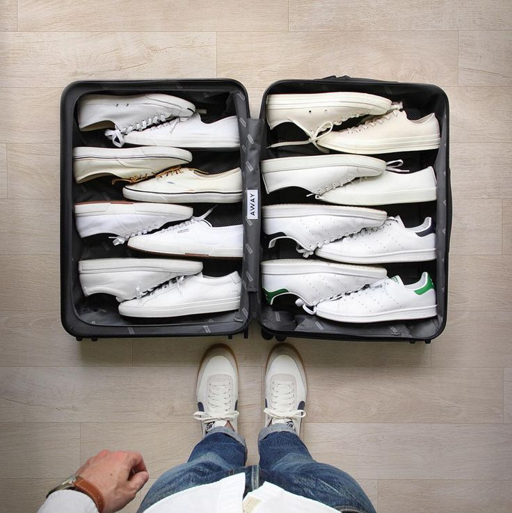 How to pack shoes ;)