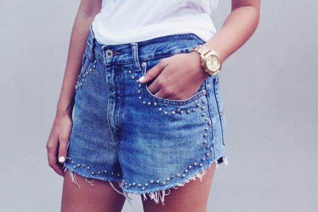 66 best Re-Style-Jeans to Shorts images on Pinterest